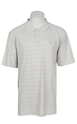 Ariat Men's AC Silver Bullet Stripe Heat Series Polo Shirt