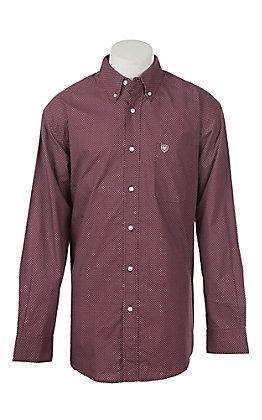 Ariat Men's Dalazar Long Sleeve Print Western Shirt
