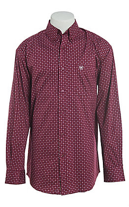Ariat Men's Darber Stretch Print Western Shirt
