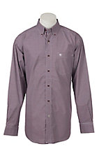 Ariat Pro Series Men's Doug Plaid Long Sleeve Western Shirt