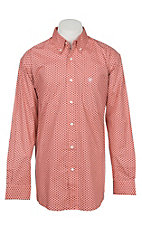 Ariat Men's Dowers Long Sleeve Stretch Print Western Shirt