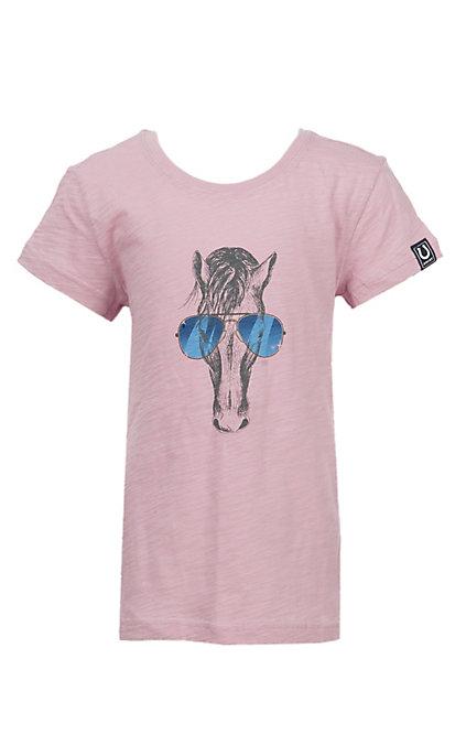 cd31e7a8a Ariat Girls' Pink Haberdashery T-Shirt
