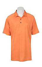 Ariat Men's Charger Golden Poppy Heat Series Tek Polo Shirt