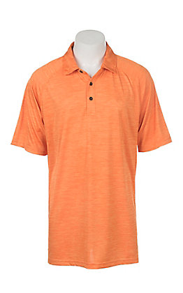 Ariat Men's Charger Orange Heat Series Polo Shirt