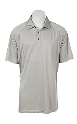 Ariat Men's Charger Grey Heat Series Polo Shirt