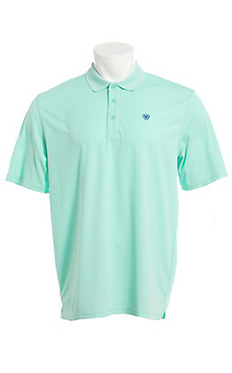 Ariat Men's Aqua Heat Series Tek Polo Shirt