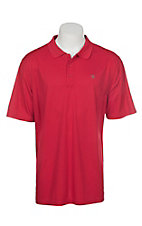 Ariat Men's Crimson Flame Heat Series Tek Polo Shirt