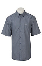 Ariat Men's Gaudy Short Sleeve Print Western Shirt
