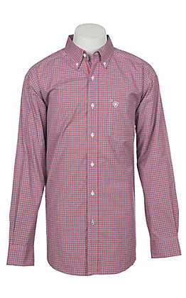 de4ae49a2b4 Ariat Men s Pro Series Haute Gazeley Plaid Long Sleeve Western Shirt