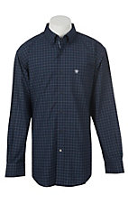 Ariat Pro Series Men's Galdes Plaid Long Sleeve Western Shirt