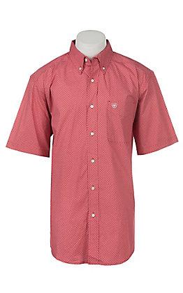 Ariat Men's Gatewood Short Sleeve Stretch Print Western Shirt