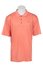 Ariat Men's Fade Hot Spark Heat Series Tek Polo Shirt