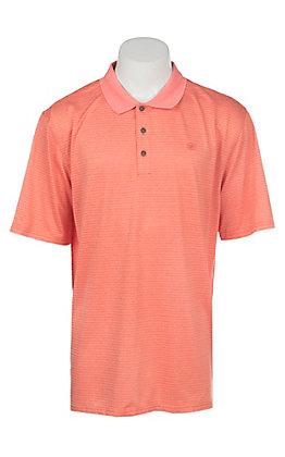 Ariat Men's Fade Hot Spark Heat Series Tek Polo Shirt