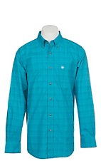 Ariat Pro Series Fairbanks Plaid Long Sleeve Western Shirt