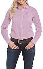 Ariat Women's REAL Kirby Stripe Stretch Long Sleeve Western Shirt