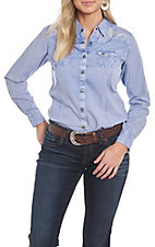 Ariat Women's REAL Kirby Brilliant Stretch Long Sleeve Western Shirt