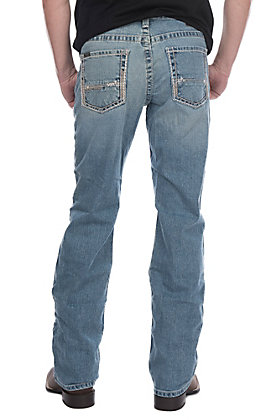 Ariat Men's M5 Stirling Nolan Slim Straight Jeans