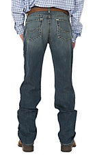 Ariat Men's M2 Ralston Burke Medium Wash Relaxed Stretch Boot Cut Jeans