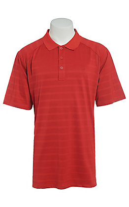 Ariat Men's AC True Crimson Red Heat Series Polo Shirt