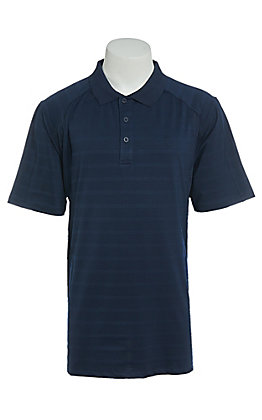 Ariat Men's AC Navy Stripe Heat Series Polo Shirt