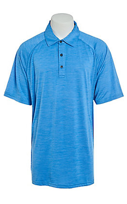 Ariat Men's True Crimson Sun Heat Series Tek Polo Shirt