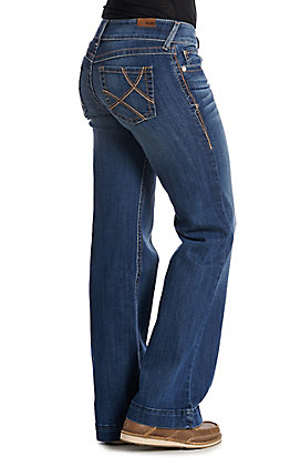 Ariat Women's Copper Ella Electric Lady Trouser Jeans