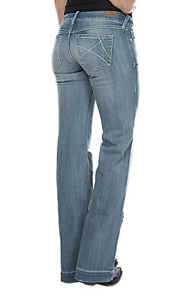 Ariat Ella Boardwalk Cavender's Exclusive Women's Trouser Jeans by Ariat