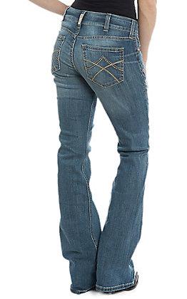 Ariat Women's Real Boot Cut Mid Rise Tulip Polaris Jean