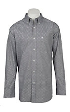 Ariat Men's Stretch Evander Geo Print L/S Western Shirt