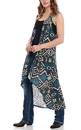 Ariat Women's Aztec Hi/Lo Vest