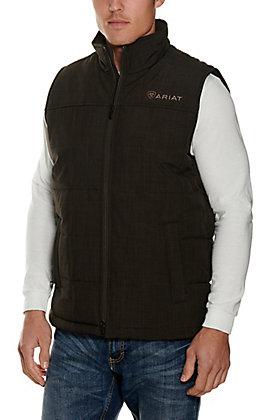 Ariat Men's Crius Espresso Concealed Carry Insulated Vest