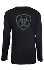 Ariat Men's Black Branded L/S Graphic T-Shirt