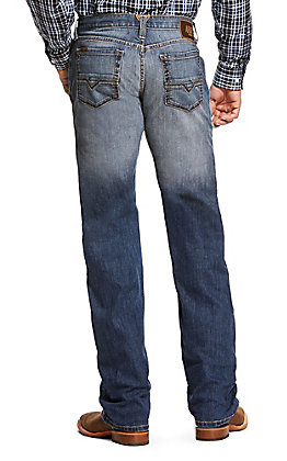 Ariat Men's M5 Bookie Bluepoint Slim Straight Leg Jeans