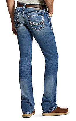 Ariat Men's M7 Davis Flintridge Straight Boot Cut Jeans