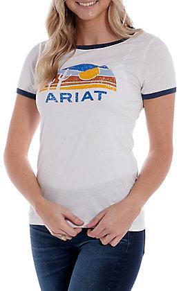 Ariat Women's Dusk Gradient Ringer Short Sleeve T-Shirt