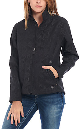 Ariat Cavender's Exclusive Women's Black Aztec Team Jacket