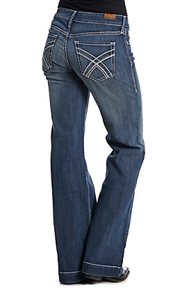 Ariat Women's Dark Wash Trouser Jeans