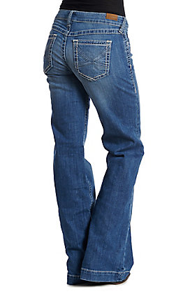 Ariat Cavender's Exclusive Women's Medium Wash Wendy Eleanor Trouser