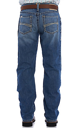 Ariat Men's M2 Relaxed Lassen Stackable Boot Cut Jeans - Big & Tall (42-44)
