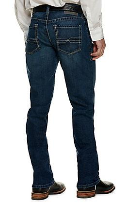 Ariat Men's M2 Denali Medium Wash Relaxed Fit Stackable Boot Cut Jeans