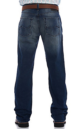 Ariat Men's M5 Slim Stretch Angler Stackable Straight Leg Stretch Jeans