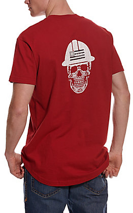 Ariat Men's Rebar Rio Red Cottonstrong Roughneck Skull Graphic Short Sleeve Work T-Shirt