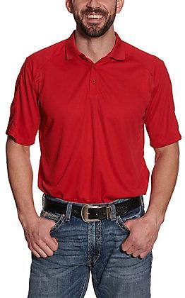 Ariat Men's AC Red Heat Series Polo Shirt