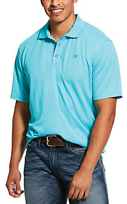 Ariat Men's TEK Bluebird Heat Series Polo Shirt