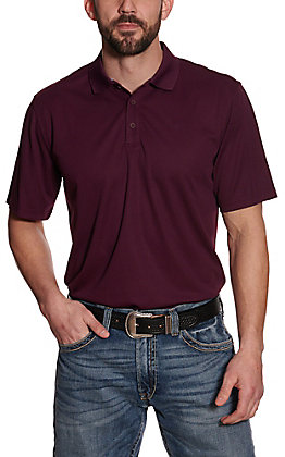 Ariat Men's TEK Potent Purple Heat Series Polo Shirt