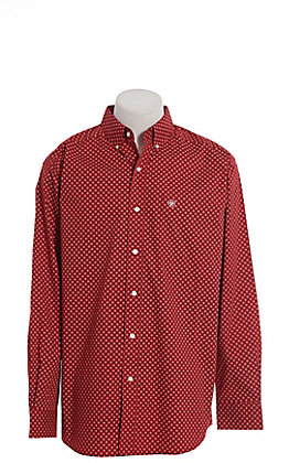 Ariat Cavender's Exclusive Men's Stretch Ruby Stackman Long Sleeve Western Shirt