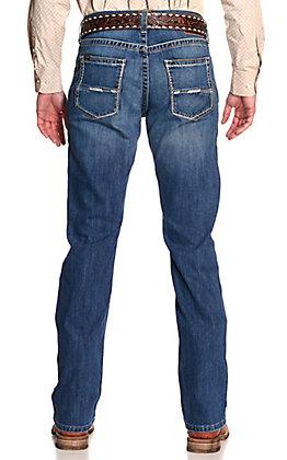 Ariat Men's M5 Casey Del Mar Medium Wash Slim Fit Straight Leg Jeans