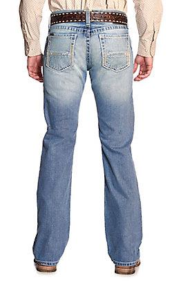 Ariat Men's M7 Stirling Shasta Light Wash Slim Fit Straight Leg Jeans