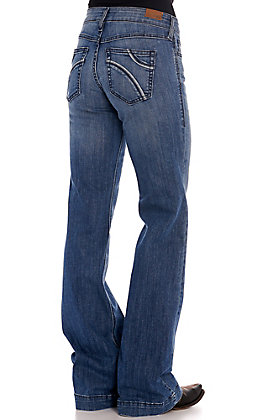 Ariat Women's Eleanor Half Moon Trouser Jeans