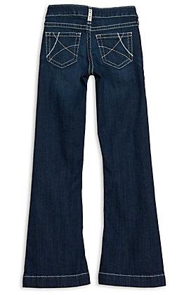Ariat Girls REAL Ella Naomi Dark Wash Trouser Jeans
